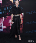 Jena Malone Returns To The Red Carpet For The 'Too Old To Die Young' LA Screening