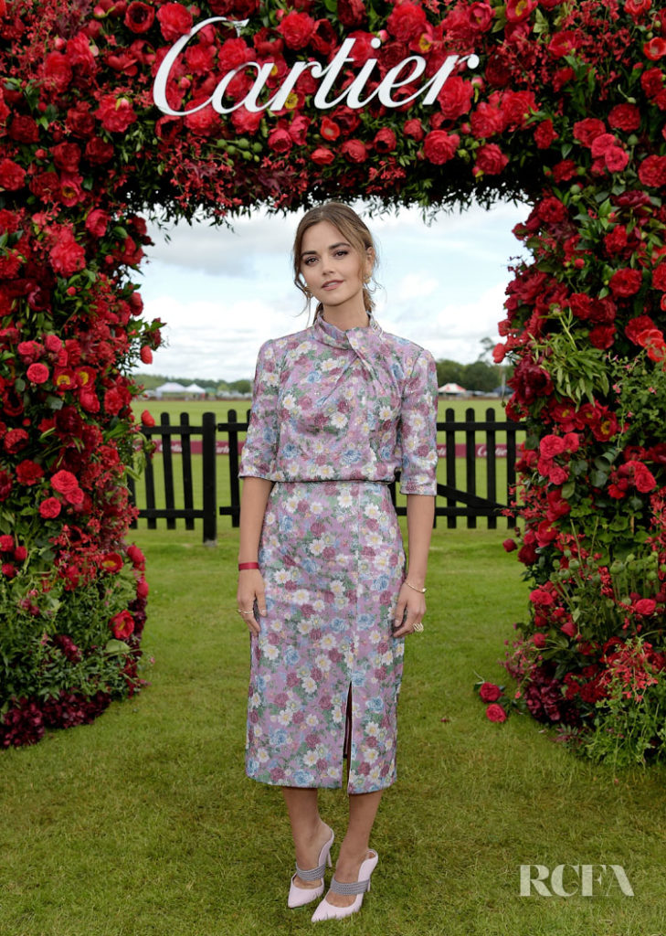Jenna Coleman's Lady Like Outing For The Cartier Queen's Cup Polo Final