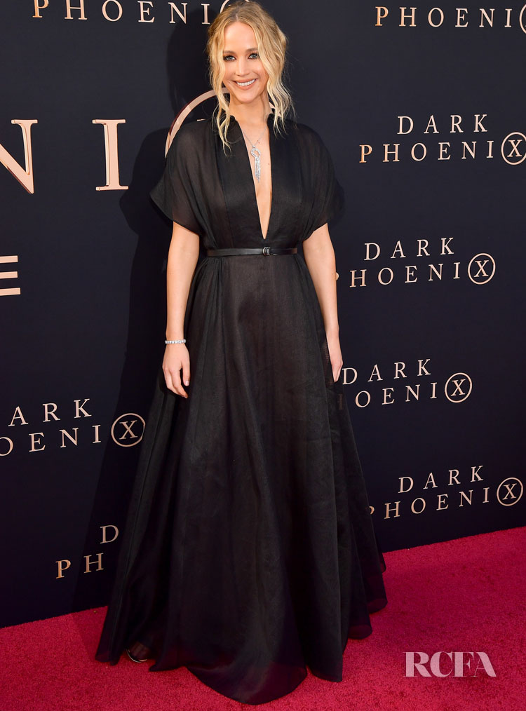 Jennifer Lawrence Dons Dior For The 'X-Men: Dark Phoenix' LA