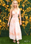 Jennifer Lawrence Was Pretty In Pink For The Veuve Clicquot Polo Classic