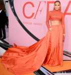 Jennifer Lopez In Ralph Lauren - CFDA Fashion Awards 2019