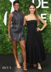 Jessica Alba & Gabrielle Union Co-ordinate In Black For Day Two Of The Monte Carlo TV Festival
