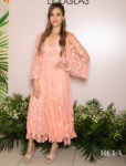 Jessica Alba Was Peachy In Milan Promoting Honest Beauty