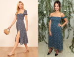 Jessica Alba's Reformation Inka Dress