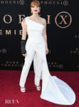 Jessica Chastain Was All White For The 'X-Men: Dark Phoenix' LA Premiere