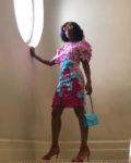Kerry Washington Rocks A  3D Floral Applique Dress On Her Last Day At Cannes Lions