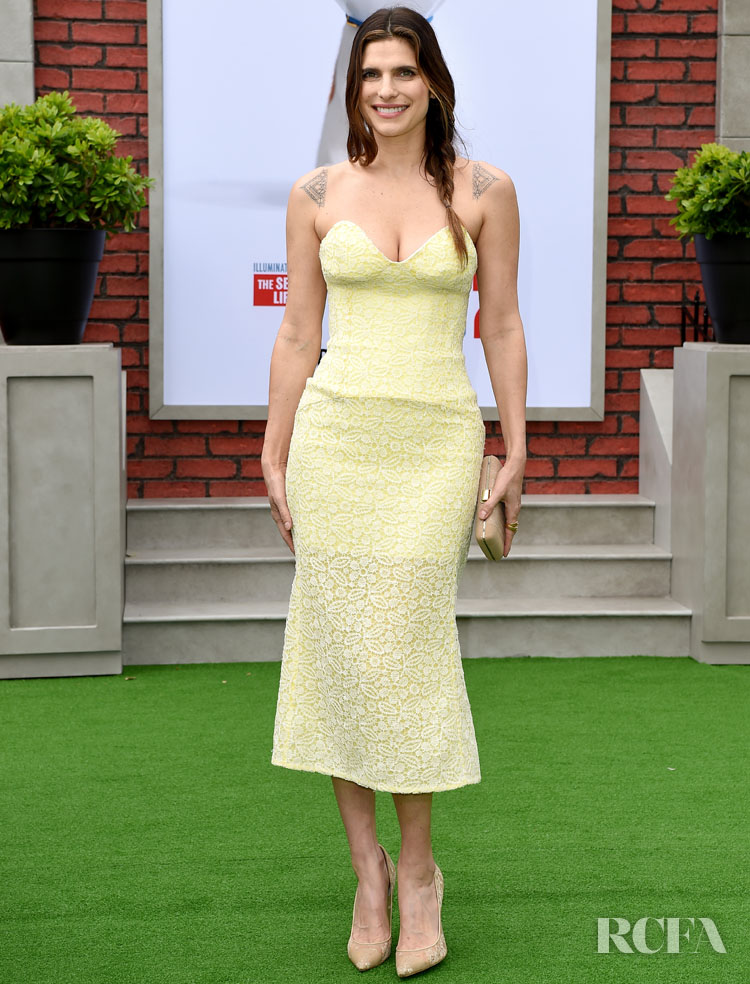 "Lake Bell attends the premiere of Universal Pictures' ""The Secret Life of Pets 2"" at Regency Village Theatre on June 2, 2019 in Westwood, California. (Photo by Axelle/Bauer-Griffin/FilmMagic)"
