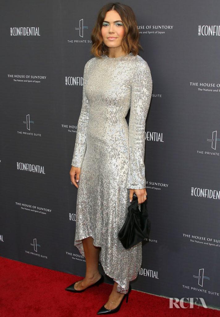 Mandy Moore In Galvan Los Angeles Confidential Magazine Impact Awards