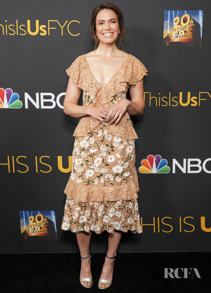 Mandy Moore S Lovely Summery Floral Dress For This Is Us