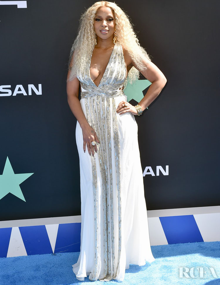 Mary J Blige Alberta Ferretti 2019 BET Awards
