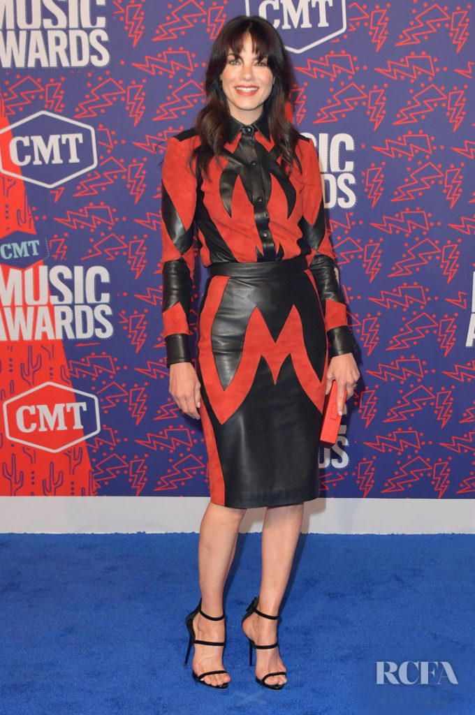 Michelle Monaghan In Dundas - 2019 CMT Music Awards