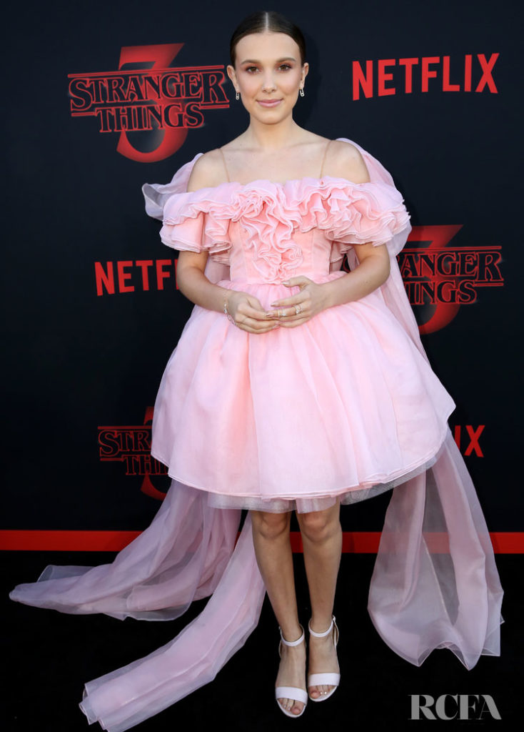 Millie Bobby Brown In Rodarte - 'Stranger Things 3' LA Premiere
