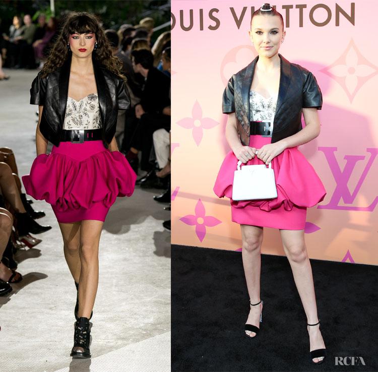 Millie Bobby Brown in Louis Vuitton