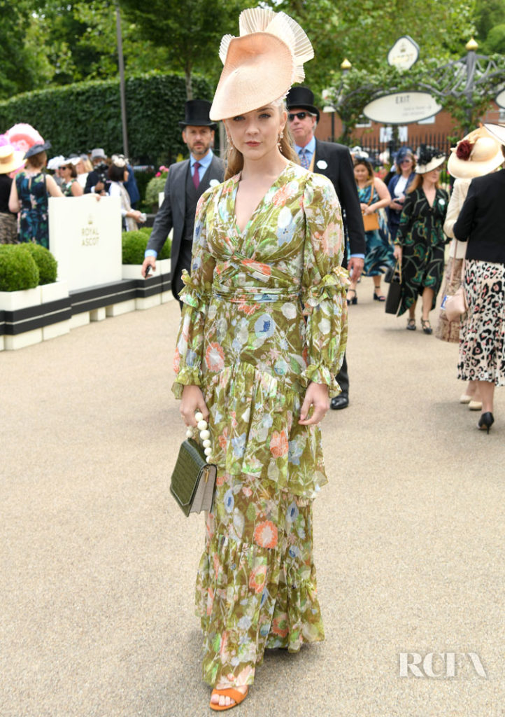 Natalie Dormer in Peter Pilotto - Royal Ascot: Lady's Day