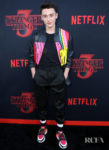 Noah Schnapp In Fendi - 'Stranger Things 3' LA Premiere