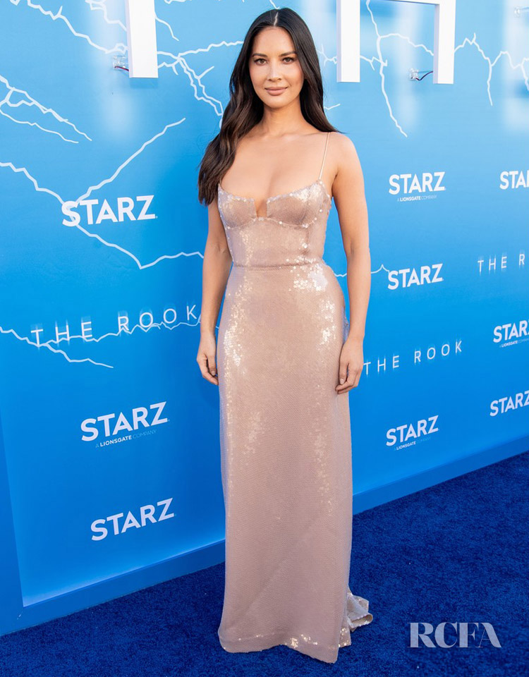 Olivia Munn Sparkles For 'The Rook' LA Premiere