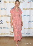Olivia Wilde Sports A Breezy Striped Look For The 2019 Maui Film Festival