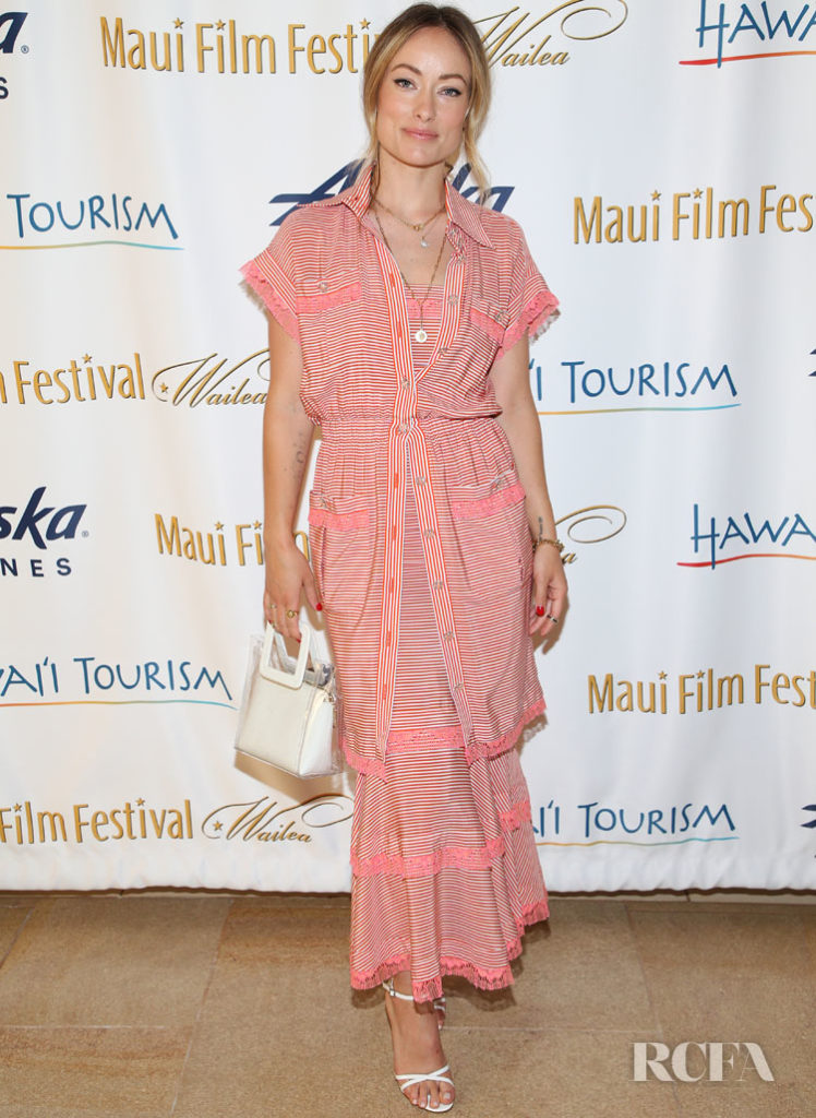 Olivia Wilde In Chanel - 2019 Maui Film Festival
