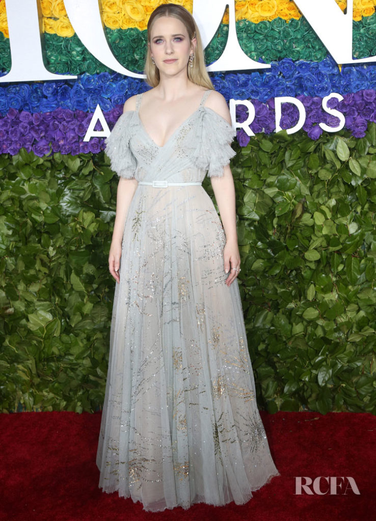 Rachel Brosnahan In Christian Dior Haute Couture - 2019 Tony Awards