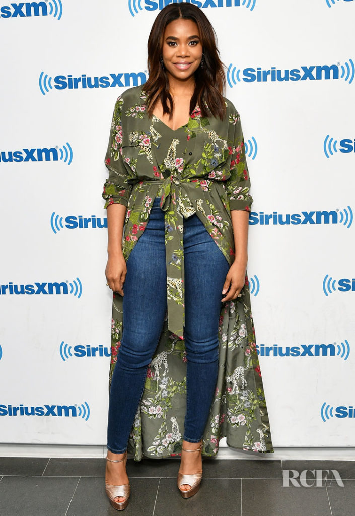Regina Hall in  L'AGENCE - SiriusXM