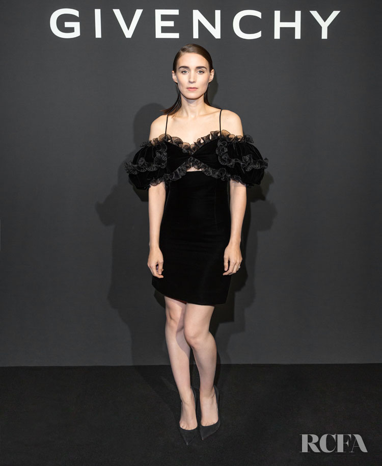 Rooney Mara Is Already Wearing Givenchy Spring 2020 For The L'Interdit Eau de Toilette Launch