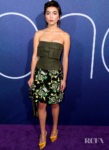 Rowan Blanchard's Homage To Frankenstein At The 'Euphoria' LA Premiere