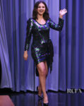 Selena Gomez Dons THE Marc Jacobs Disco Dress On Jimmy Fallon