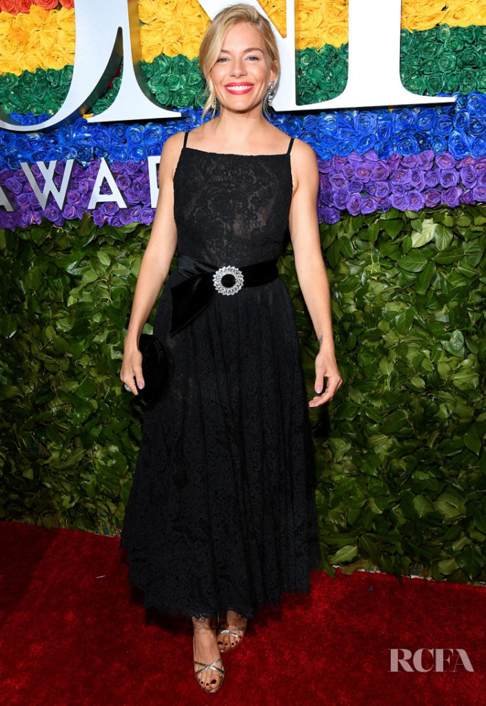 Sienna Miller In Miu Miu - 2019 Tony Award