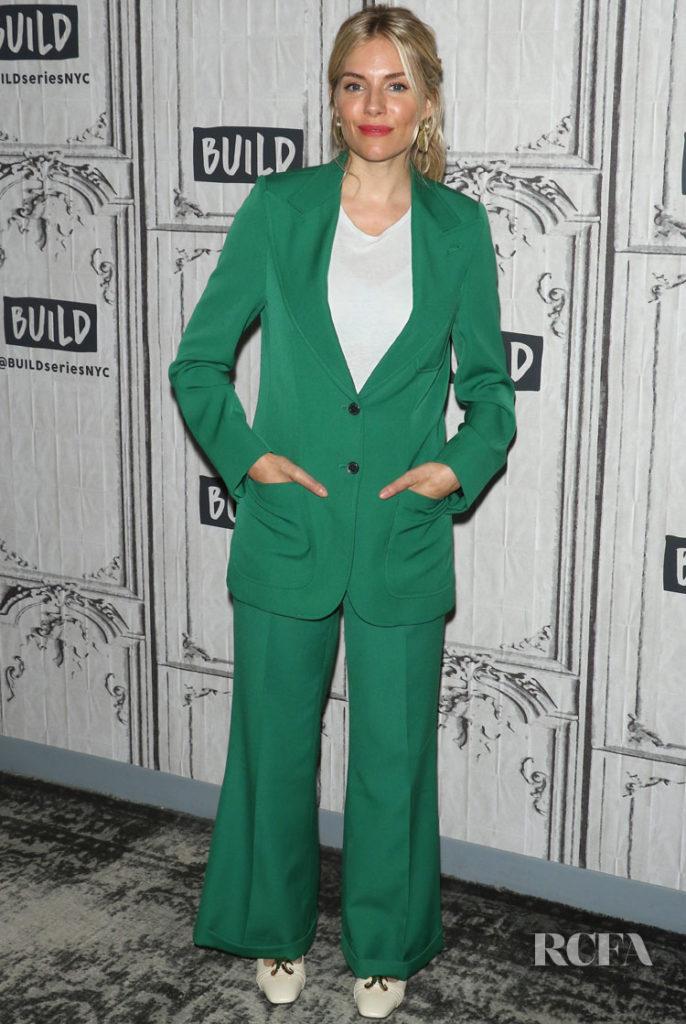 Sienna Miller in Gucci - Build Series