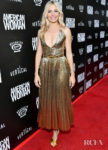 Sienna Miller's Gold Goddess Moment For 'American Woman' LA Premiere