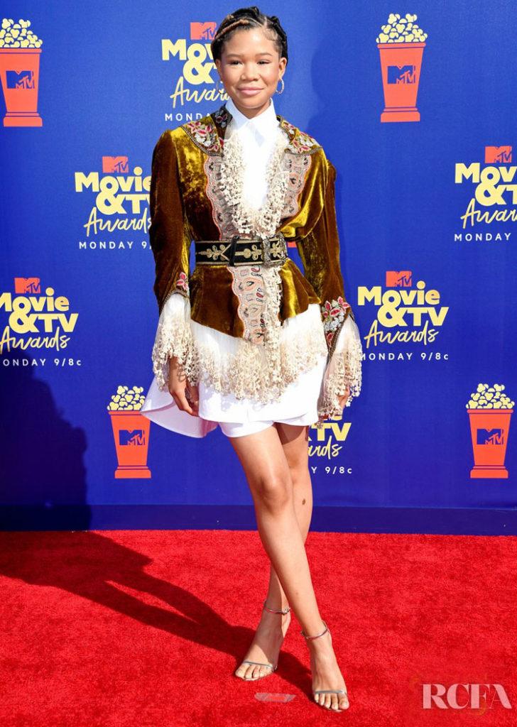 Storm Reid In Etro - 2019 MTV Movie And TV Awards