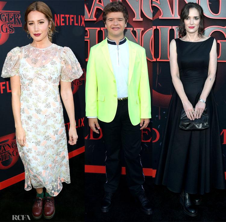 Stranger Things 3' LA Premiere Red Carpet Roundup - Red