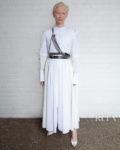 Tilda Swinton's Fresh Interpretation Of The Classic Shirt Dress For The 'Orlando' New York Screening