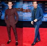 Tom Holland and Jake Gyllenhaal Share A Love For Christian Louboutin Dandelion Loafers At The 'Spider-Man: Far From Home' LA Premiere