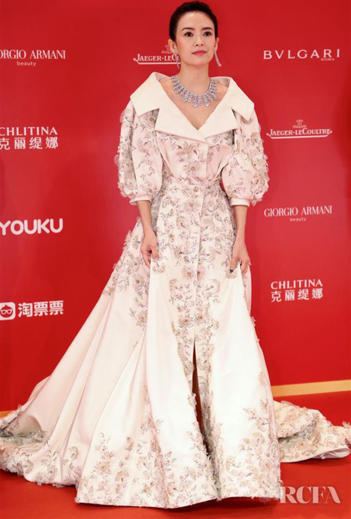 Zhang Ziyi In Ralph & Russo Couture