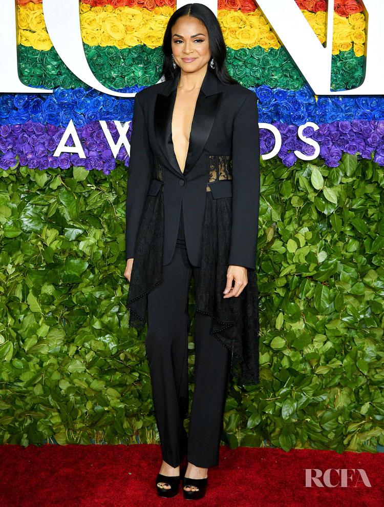 Karen Olivo in Alexander McQueen - 2019 Tony Awards