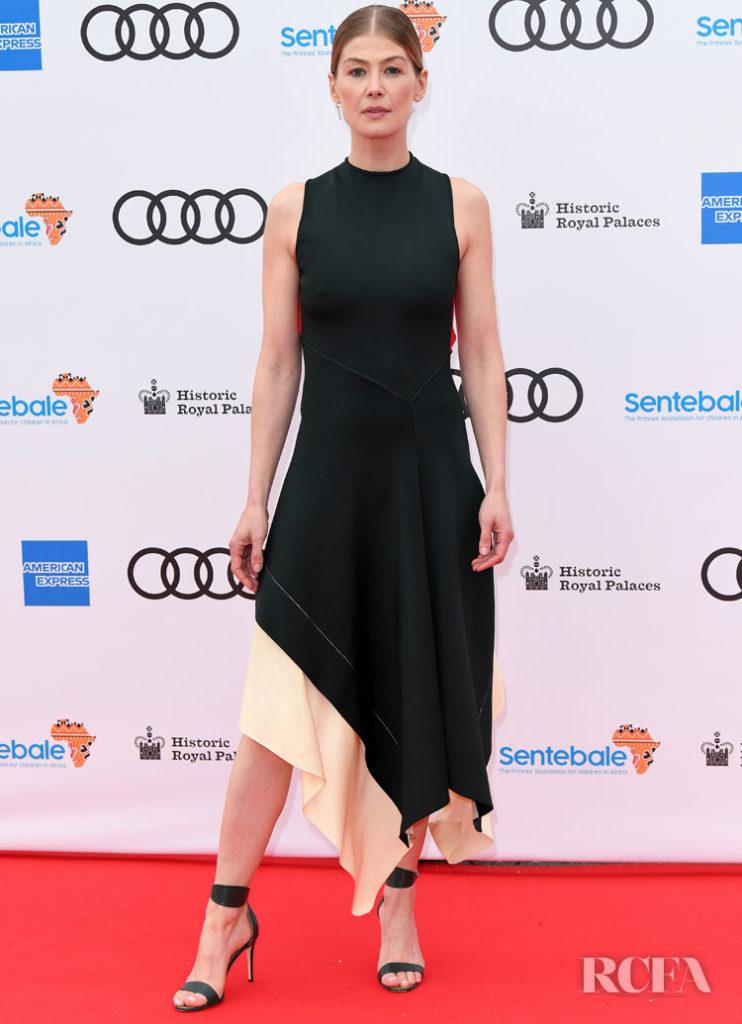 Rosamund Pike in Victoria Beckham -  Sentebale Audi Concert