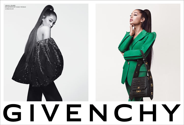 1ef6d9feadb6ce The House Of Givenchy Unveils #Arivenchy, The Campaign Starring Ariana  Grande