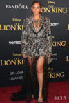 Beyonce Knowles Dazzles In A Crystal Chandelier Tuxedo Gown For 'The Lion King' World Premiere