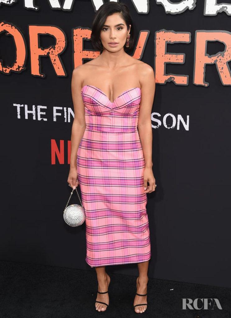 Diane Guerrero wearing Christian Siriano - 'Orange Is The New Black' Final Season World Premiere