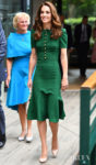 Catherine, Duchess of Cambridge Was Back In Her Favourite Colour - Green - For The Wimbledon Finals