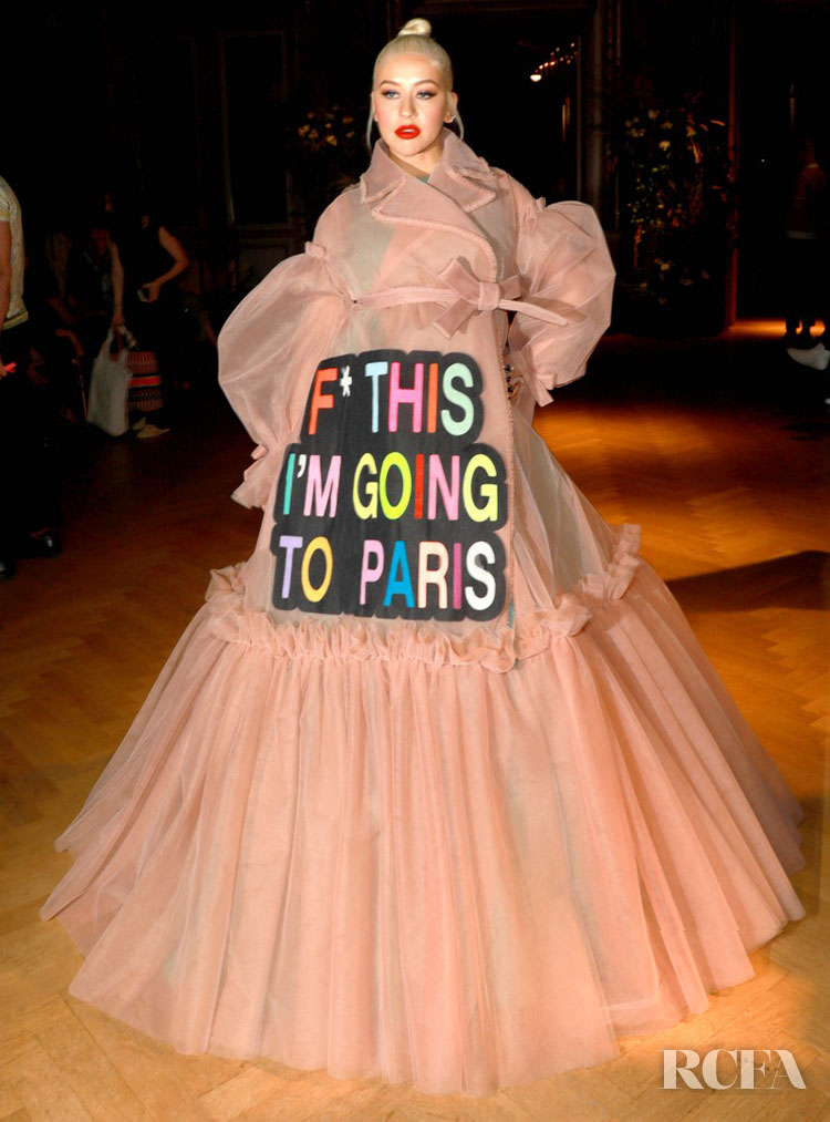 Christina Aguilera in Viktor & Rolf Couture