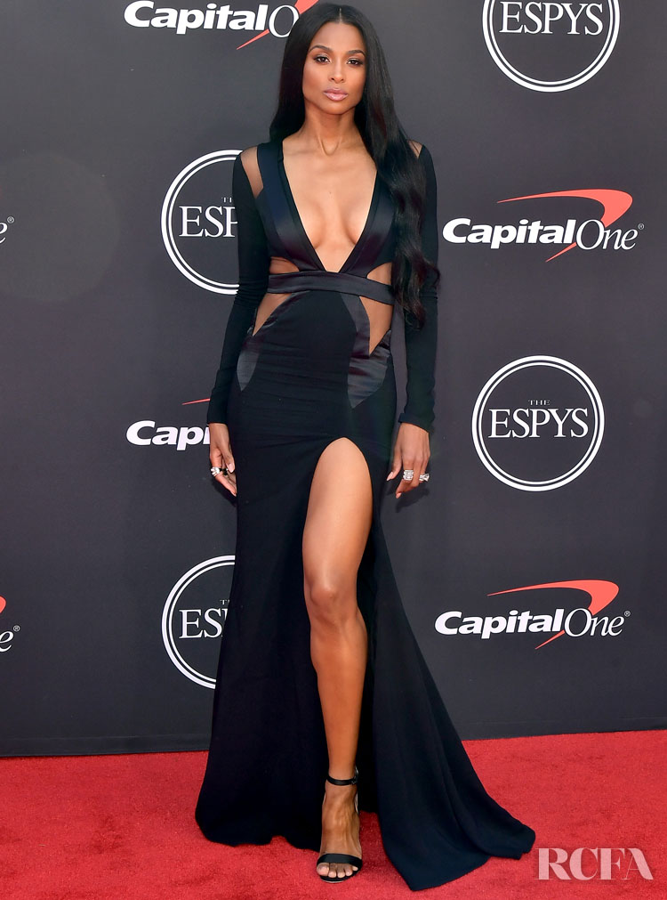 ciara back in black for the 2019 espys