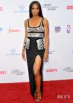 Ciara Goes Metallic For The 5th Annual Sports Humanitarian Awards