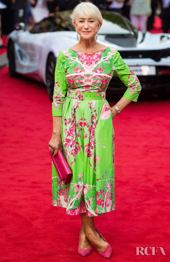 Dame Helen Mirren in Eponine - 'Fast & Furious: Hobbs & Shaw' London Screening