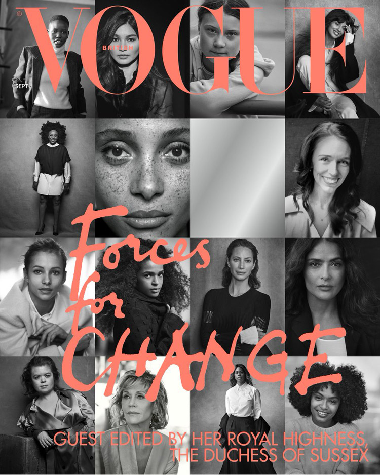 Meghan, Duchess Of Sussex Guest Edits The September Issue Of British Vogue