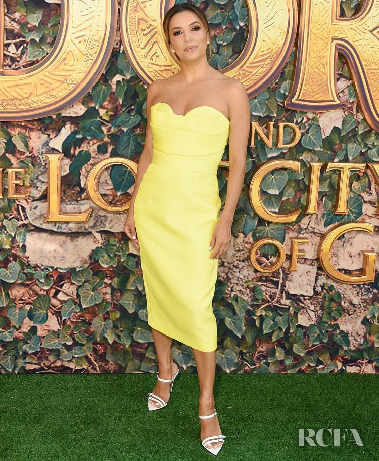 Eva Longoria In Vitor Zerbinato - Dora And The Lost City Of Gold LA Premiere