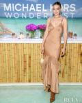 Gigi Hadid Slips Into A Slip Dress For The Michael Kors Wonderlust Event
