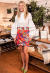 Gwyneth Paltrow's Floral Mini Packs A Mighty Punch At The Launch of Goop Market