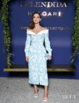 Jenna Coleman's Floral Delight For The Bvlgari Splendida Tubereuse Mystique Event